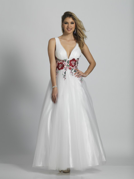 6081 gown from the 2018 Dave & Johnny Special Occasions collection, as seen on Bride.Canada