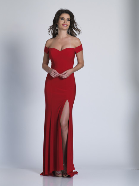 6086 gown from the 2018 Dave & Johnny Special Occasions collection, as seen on Bride.Canada