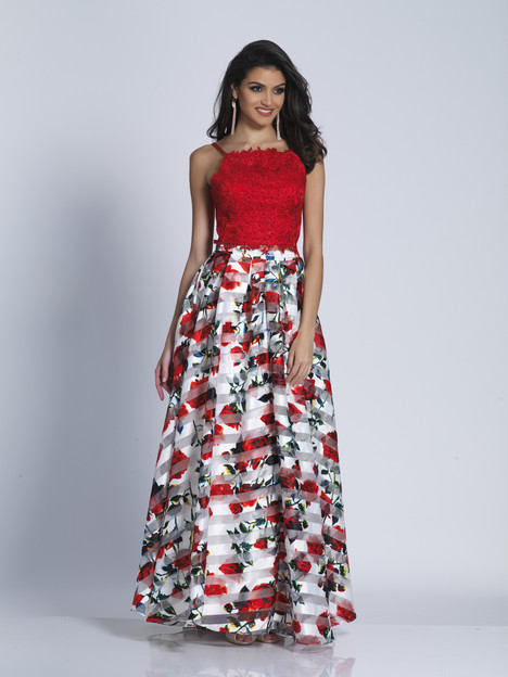 6137 gown from the 2018 Dave & Johnny Special Occasions collection, as seen on Bride.Canada