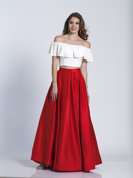 6139 gown from the 2018 Dave & Johnny Special Occasions collection, as seen on Bride.Canada