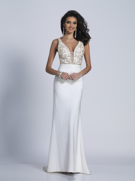 6217 gown from the 2018 Dave & Johnny Special Occasions collection, as seen on Bride.Canada