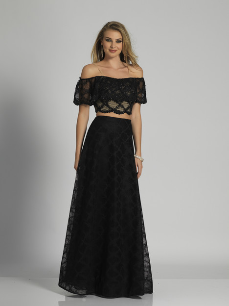 6237 gown from the 2018 Dave & Johnny Special Occasions collection, as seen on Bride.Canada