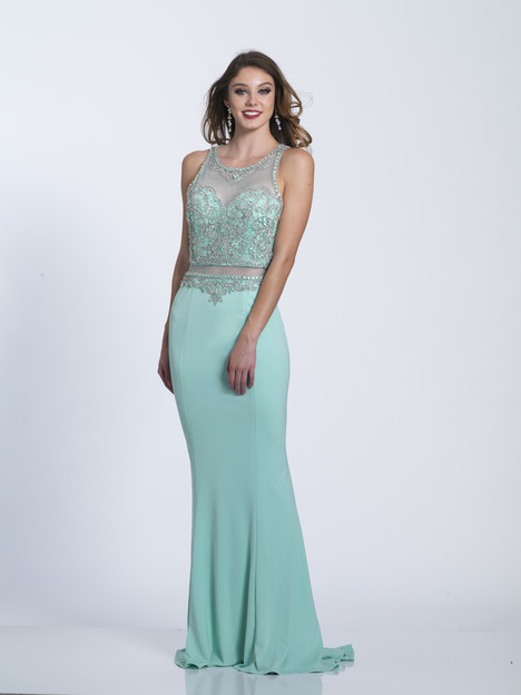 6352 gown from the 2018 Dave & Johnny Special Occasions collection, as seen on Bride.Canada