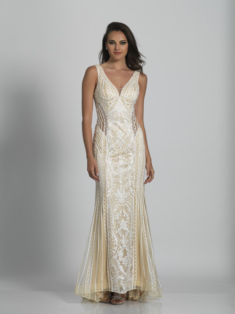 6364 gown from the 2018 Dave & Johnny Special Occasions collection, as seen on Bride.Canada