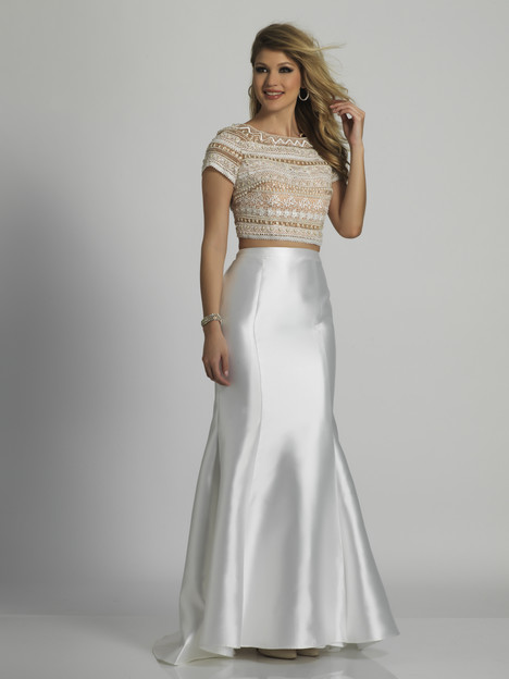 6439 gown from the 2018 Dave & Johnny Special Occasions collection, as seen on Bride.Canada