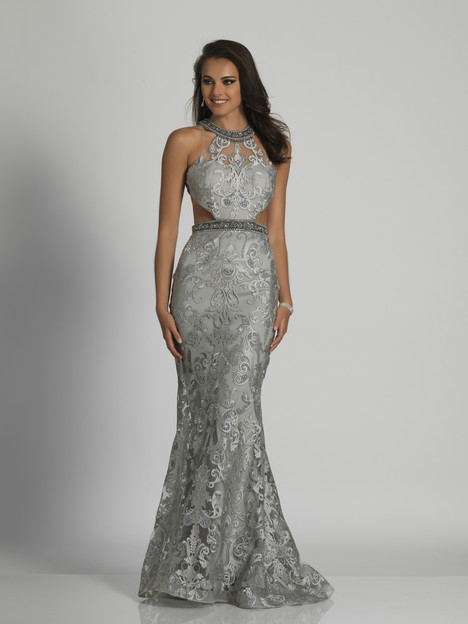 6444 gown from the 2018 Dave & Johnny Special Occasions collection, as seen on Bride.Canada
