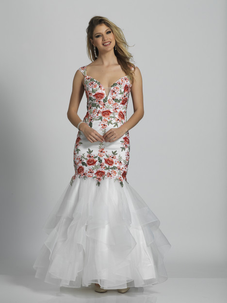 6489 gown from the 2018 Dave & Johnny Special Occasions collection, as seen on Bride.Canada
