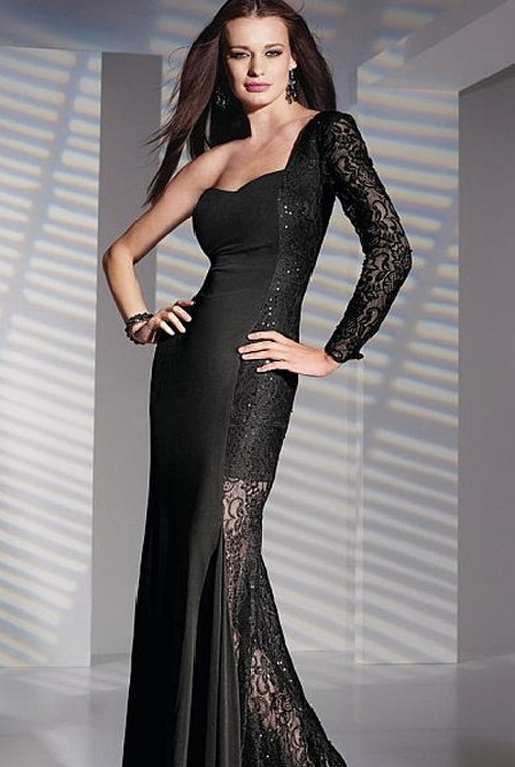 6840 gown from the 2016 Alyce Paris: Semi Formal collection, as seen on Bride.Canada