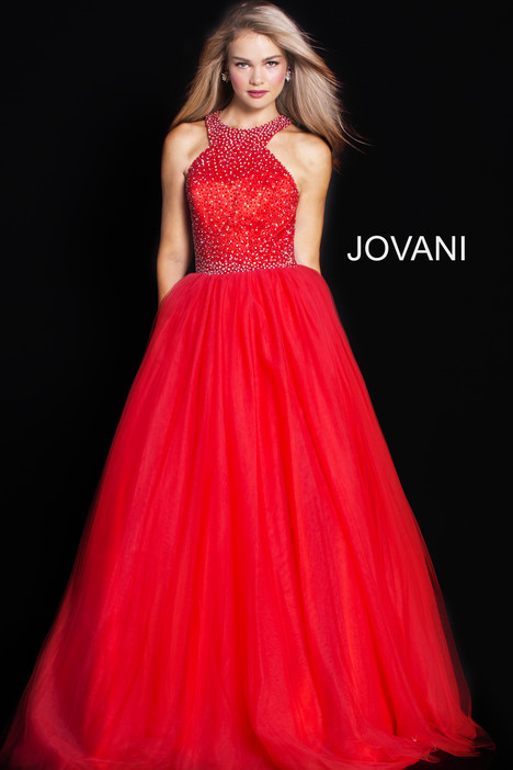 36506 gown from the 2018 Jovani collection, as seen on Bride.Canada