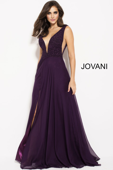 48116 gown from the 2018 Jovani collection, as seen on Bride.Canada