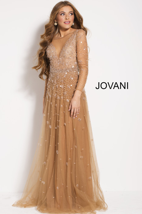 48928 gown from the 2018 Jovani collection, as seen on Bride.Canada