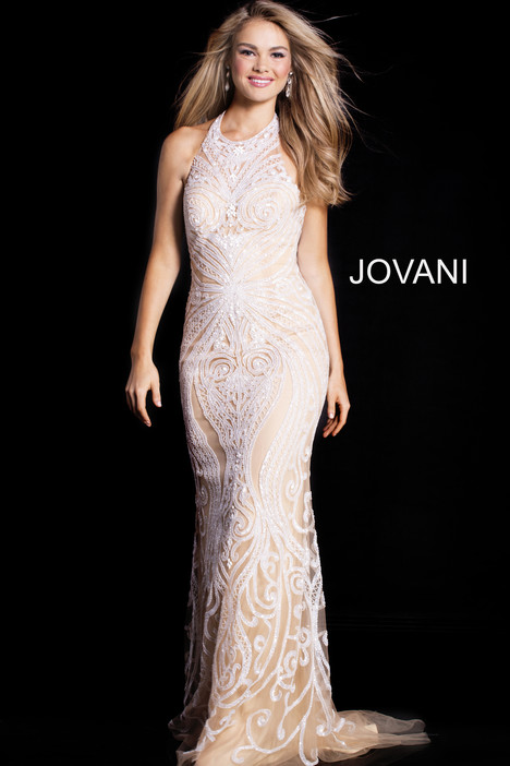49249 gown from the 2018 Jovani collection, as seen on Bride.Canada