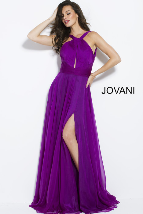50612 gown from the 2018 Jovani collection, as seen on Bride.Canada