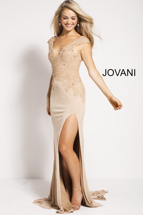 51130 gown from the 2018 Jovani collection, as seen on Bride.Canada