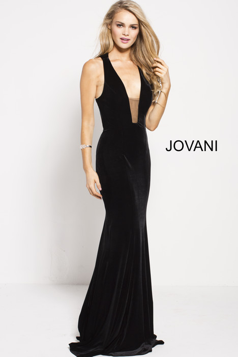 51455 gown from the 2018 Jovani collection, as seen on Bride.Canada