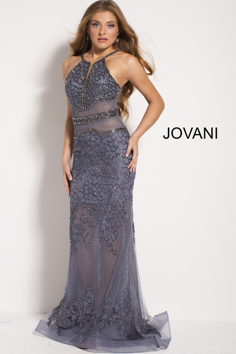 53397 gown from the 2018 Jovani collection, as seen on Bride.Canada