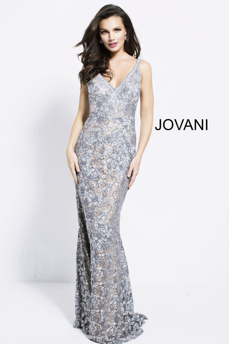 53811 gown from the 2018 Jovani collection, as seen on Bride.Canada