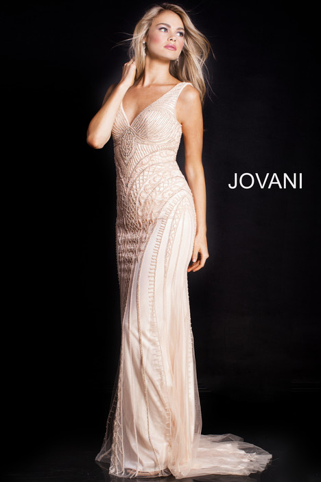 54539 gown from the 2018 Jovani collection, as seen on Bride.Canada
