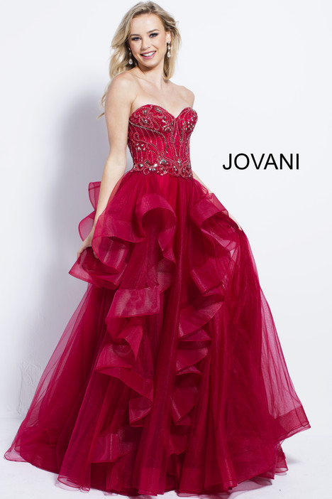54642 gown from the 2018 Jovani collection, as seen on Bride.Canada