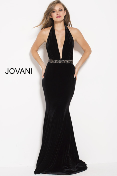 54845 gown from the 2018 Jovani collection, as seen on Bride.Canada