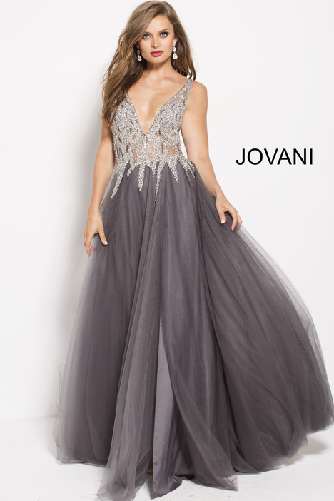 54873 gown from the 2018 Jovani collection, as seen on Bride.Canada