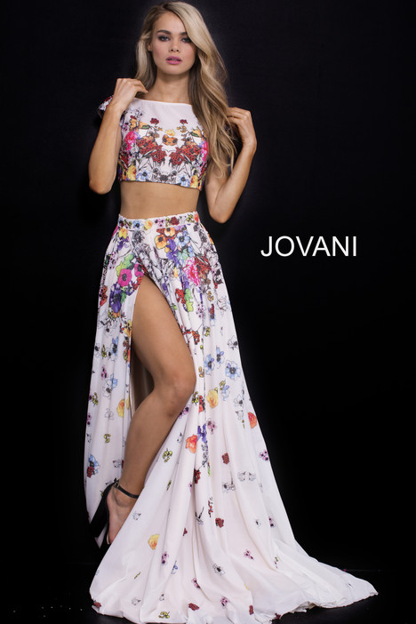 55272 (2) gown from the 2018 Jovani collection, as seen on Bride.Canada