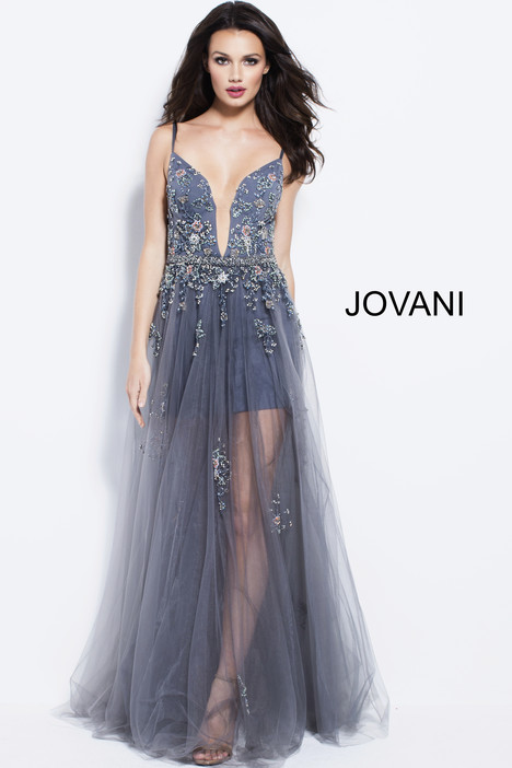 55621 gown from the 2018 Jovani collection, as seen on Bride.Canada