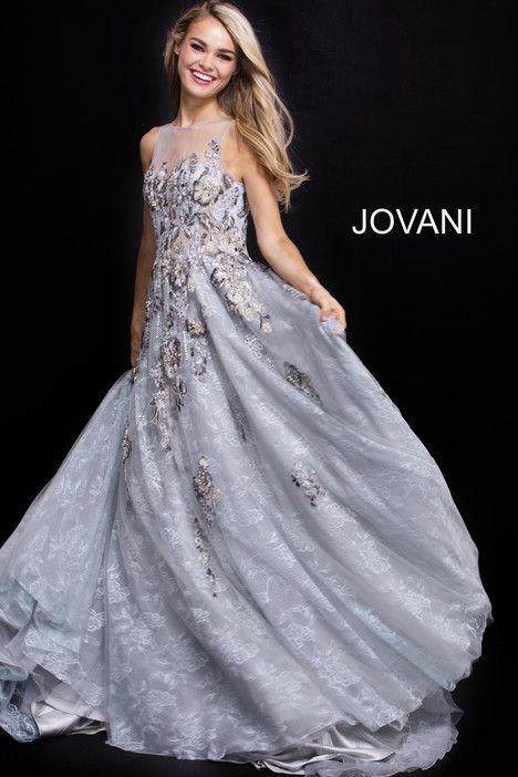 55818 gown from the 2018 Jovani collection, as seen on Bride.Canada
