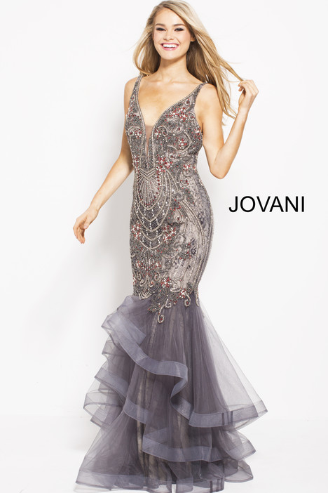 55939 gown from the 2018 Jovani collection, as seen on Bride.Canada