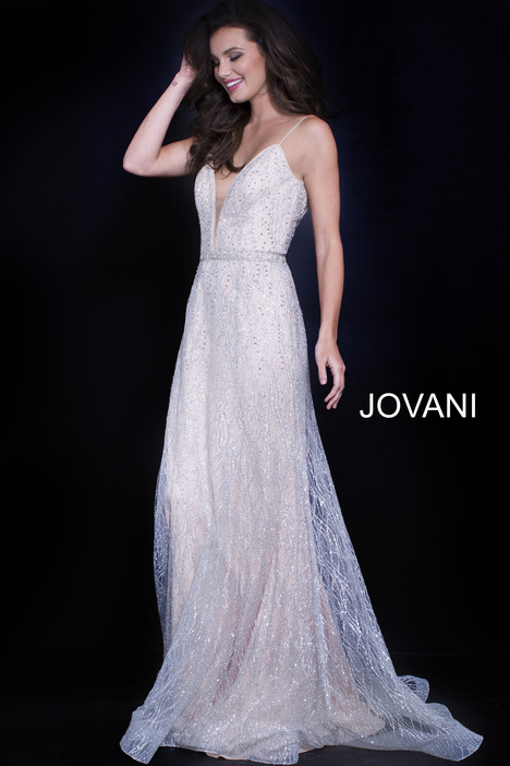56050 gown from the 2018 Jovani collection, as seen on Bride.Canada