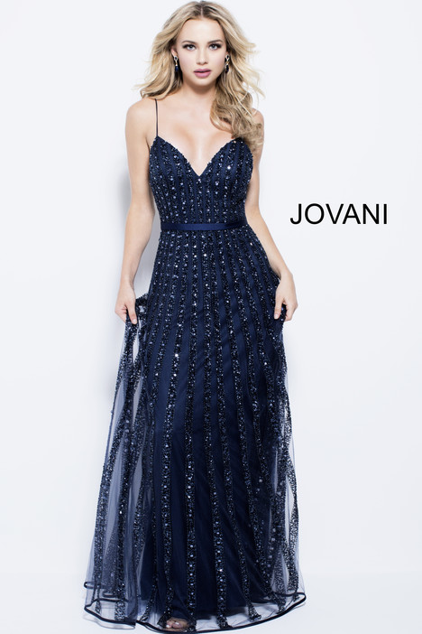 57181 gown from the 2018 Jovani collection, as seen on Bride.Canada