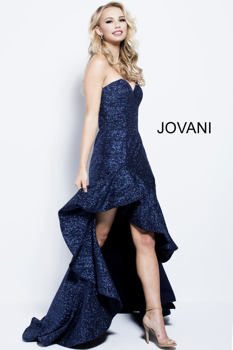 57257 gown from the 2018 Jovani collection, as seen on Bride.Canada