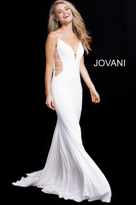 57295 gown from the 2018 Jovani collection, as seen on Bride.Canada