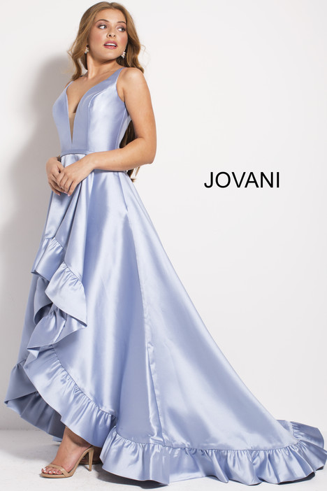 57491 gown from the 2018 Jovani collection, as seen on Bride.Canada