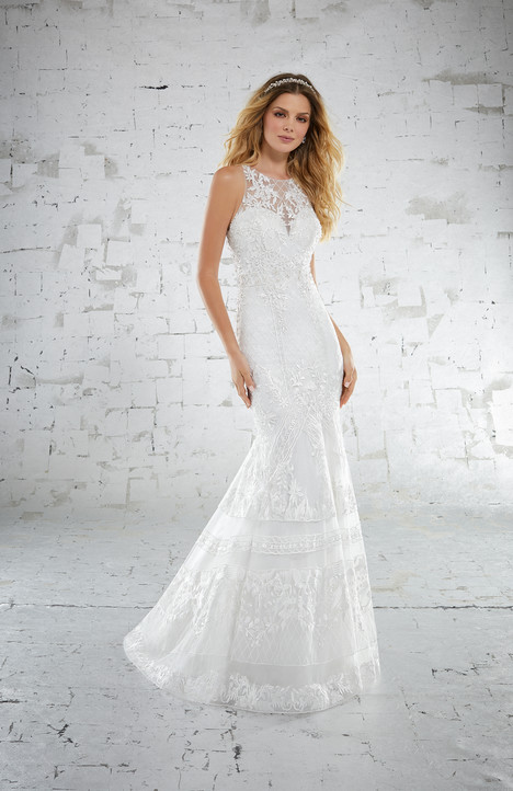 gown from the 2018 Morilee Voyagé collection, as seen on Bride.Canada