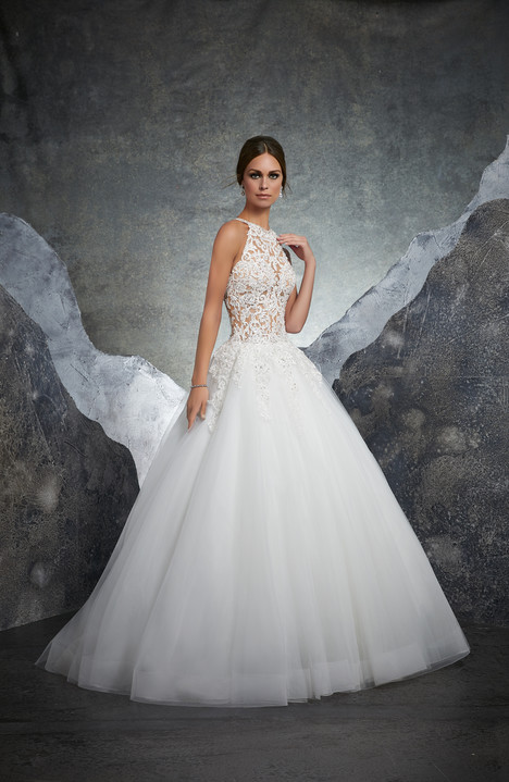 5608 gown from the 2018 Mori Lee: Blu collection, as seen on Bride.Canada