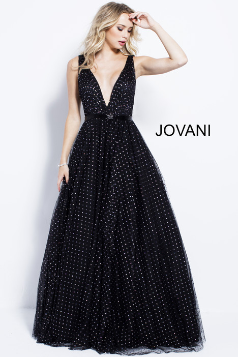 57696 gown from the 2018 Jovani collection, as seen on Bride.Canada