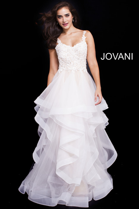 58113 gown from the 2018 Jovani collection, as seen on Bride.Canada