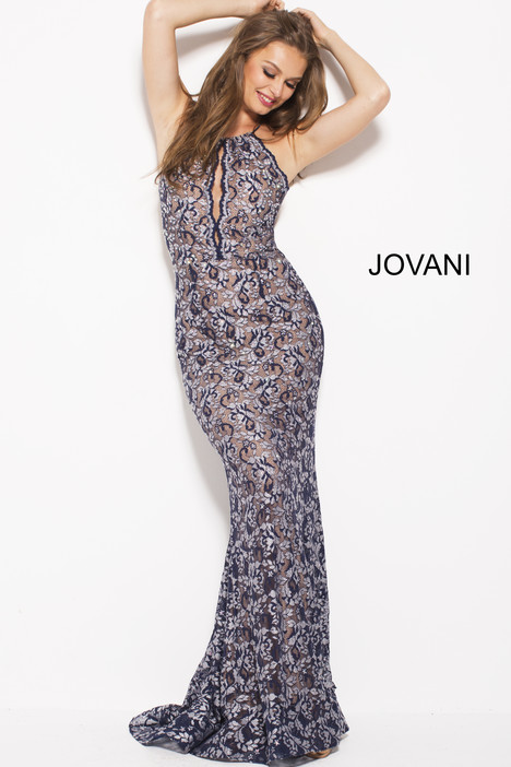 58497 gown from the 2018 Jovani collection, as seen on Bride.Canada