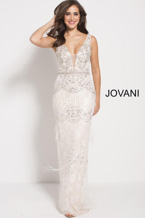 59116 gown from the 2018 Jovani collection, as seen on Bride.Canada