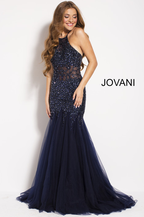 59173 gown from the 2018 Jovani collection, as seen on Bride.Canada
