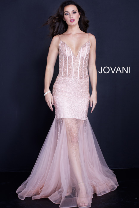 59647 gown from the 2018 Jovani collection, as seen on Bride.Canada