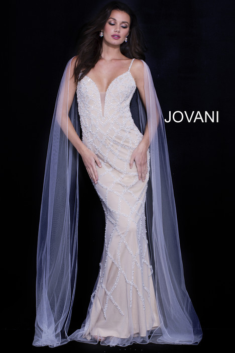 59649 gown from the 2018 Jovani collection, as seen on Bride.Canada
