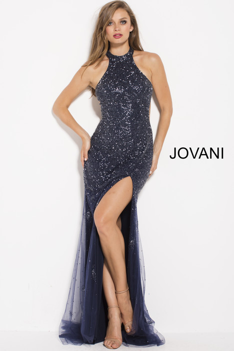 59819 gown from the 2018 Jovani collection, as seen on Bride.Canada