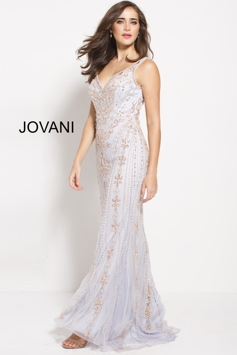 60829 gown from the 2018 Jovani collection, as seen on Bride.Canada