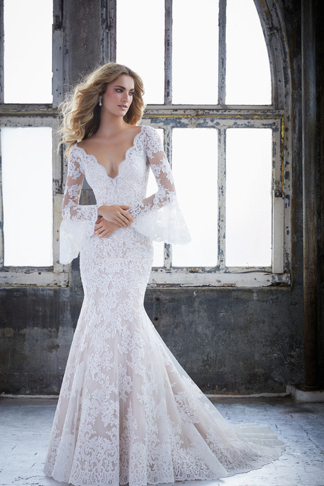 gown from the 2018 Morilee Bridal collection, as seen on Bride.Canada