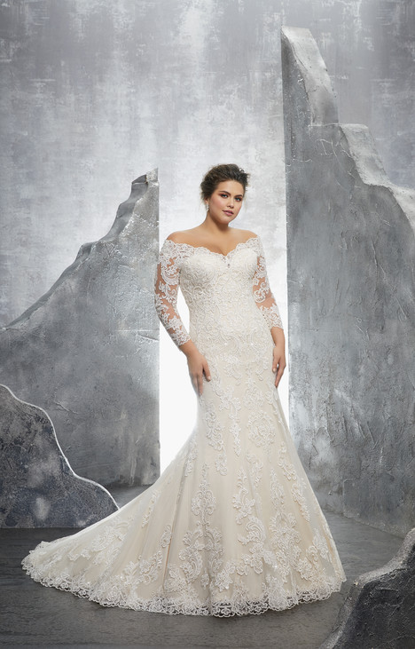 3231 gown from the 2018 Morilee Julietta collection, as seen on Bride.Canada