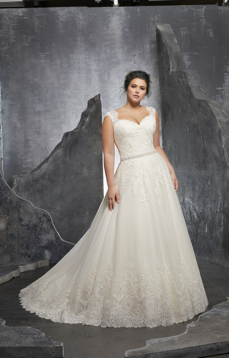 3232 gown from the 2018 Morilee Julietta collection, as seen on Bride.Canada