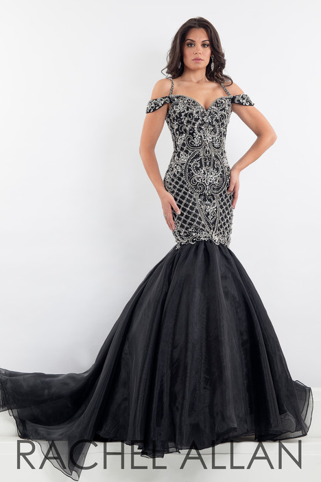 5000 (Black) gown from the 2018 Rachel Allan : Prima Donna collection, as seen on Bride.Canada