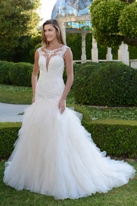 VE8356N gown from the 2011 Venus Bridal collection, as seen on Bride.Canada